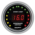 Auto Meter 3379 Sport-Comp Digital Wideband Air/Fuel Ratio (AFR) Gauge