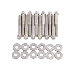 Edelbrock 8584 Intake Manifold Bolt Set, Steel, Ford/Mercury 351W