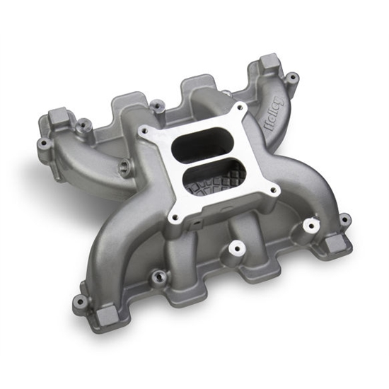 Ls6 Engine Code: Holley 300-129 Mid-Rise Intake GM LS3/LS92