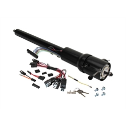 Ididit 1520690051 Plain Black Tilt Steering Column, 1969-72 Chevelle