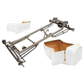 Basic 1923 T-Bucket Frame Kit w/ Deluxe Body, Channeled Floor