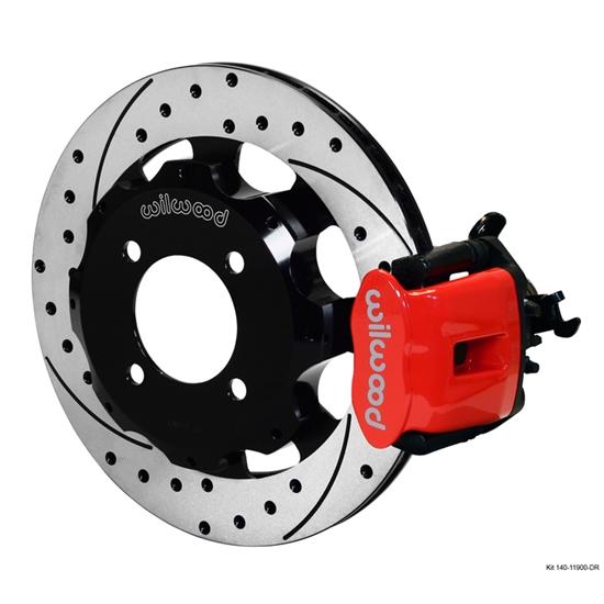 wilwood 140 11900 dr cpb rear disc brake kit 2011 ford fiesta ebay. Black Bedroom Furniture Sets. Home Design Ideas