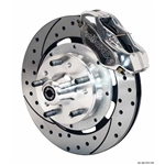 Wilwood 140-8583-DP FDL 12.19 Front Brake Kit, 1937-48 Ford Car