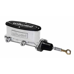 Wilwood 260-12900-P H/V Tandem Master Cylinder, 7/8 Inch Bore, Mustang
