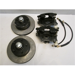 Garage Sale - Mustang II Complete 11 Inch Front Disc Brake Kit, 5 On 4-3/4 ...