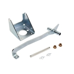 Universal Fit Firewall Mount Brake Pedal Assembly