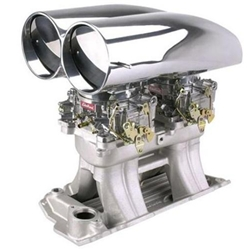 Shotgun Bill's Scoop® S/B Chevy Tunnel Ram Intake/Carb Kit