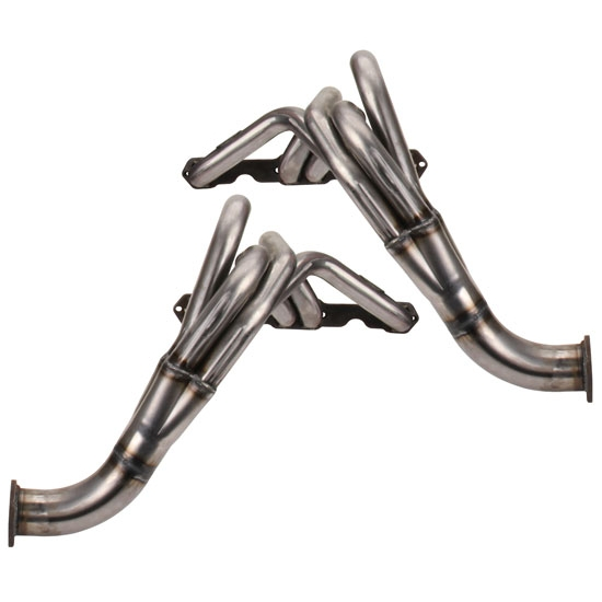 Dougs Headers D329R Chevy II Fenderwell Headers Raw Finish