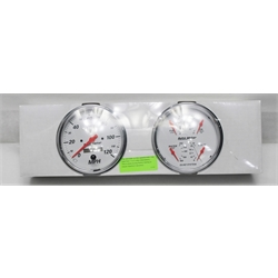 Garage Sale - Auto Meter 1303 Arctic White Quad Gauges