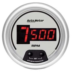 Auto Meter 6597 Ultra-Lite Digital Digital In-Dash Tach, 10kRPM, 3-3/8