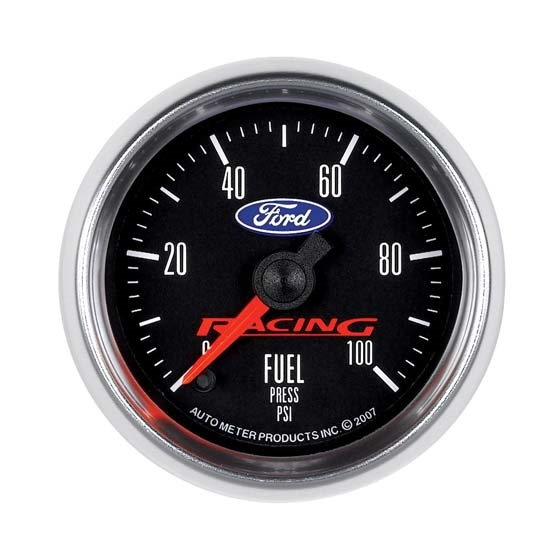 Auto Meter 880080 Ford Racing Digital Stepper Motor Fuel Press. Gauge
