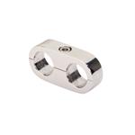 Billet Specialties 68120 Alum Hose Separator Clamp, .500 x .500 Inch