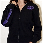 Chopper Dolls Hell On Heels Zip Hoodie