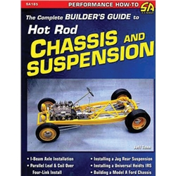 Book/Manual-Complete Builder's Guide to Hot Rod Chassis and Suspension