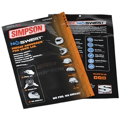 Simpson Racing No Sweat Helmet Liner - 3 Pack