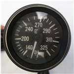 Garage Sale - Stewart Warner 284-C72 HD 2-1/16 In. Oil Temperature Gauge, Mechanical