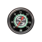 Stewart Warner 692H72 Green Line 2-5/8 In Water Temp. Gauge-Mechanical