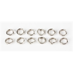 High Collar Stainless Steel Lock Washers, 3/8 Inch, Set/12