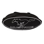 Garage Sale - GOBOXES F2000BLKM Ford Mustang Canvas Bag - Black