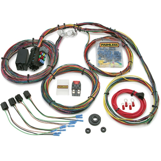 painless 10127 1966 1976 mopar car 21 circuit wiring harness ebay