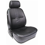 Scat Procar Pro-90 Series 1300 Vintage Bucket Seat-Pass. Side-Black