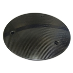 Swindell Series Sander Racing Carbon Fiber Wheel Mud Cover, 15 Inch Sprint