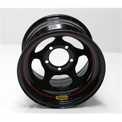 Garage Sale - Bassett 50LJ4B 15X10 Inertia 5 on 5.5 4 Inch BS Black Beaded Wheel