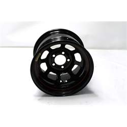 Garage Sale - Bassett 50SC45 15X10 D-Hole Lite 5on4.75 4.5 In Backspace Black Wheel