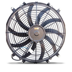 AFCO 80177 Electric Cooling Fan, 16 Inch S-Blade