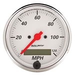 Auto Meter 1388 Arctic White Air-Core Speedometer Gauge