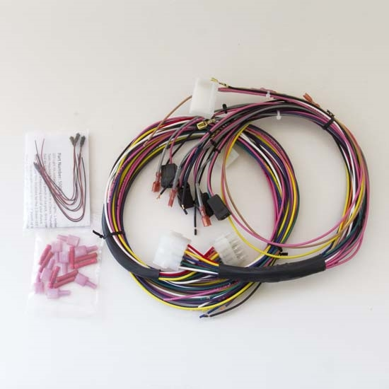 auto meter 2198 universal gauge wire harness with led ... auto radio wiring harness auto meter wiring harness #10