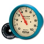 Auto Meter 4594 Ultra-Nite Air-Core In-Dash Tach, 10k RPM, 5 Inch