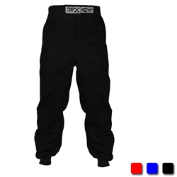 Finishline SFI-1 Qualifier 1-Layer Racing Pants Black Small