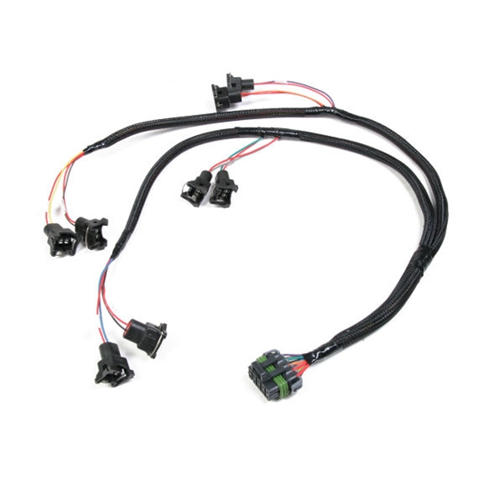 holley efi injector harness connector holley 4 barrel carb