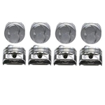KB Claimer Chevy 350 Hypereutectic Pistons, .275 Dome, 5.7 Rod