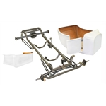 Nostalgia 1923 T-Bucket Frame Kit w/ Deluxe Body and Bed, No Floor