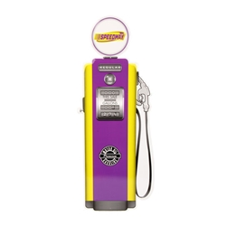 Speedway Metal Gas Pump Sign, 30 Inch Tall