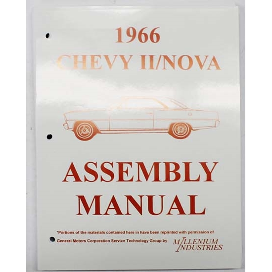 Dave Graham 66-NFA Factory Assembly Manual, 1966 Chevy II/Nova
