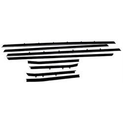 Repops CA144R Window Felts for 1968-69 Camaro Coupe, 8-Piece