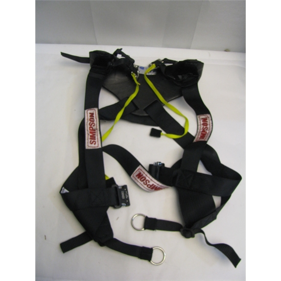 Garage Sale - Hybrid Pro Rage Head/Neck Restraint - Slideing Tether Version, Size Medium