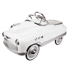 Garage Sale - Murray Comet Style Pedal Car - White