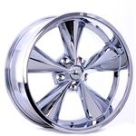 Garage Sale - Boyds Wheels BC1-776140C Junkyard Dog 17x7 Chrome Wheel, 5 on 4-3/4