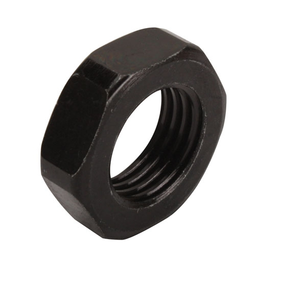 AFCO 120X5 7/16-20 Inch Jam Nut, Black Oxide Coated