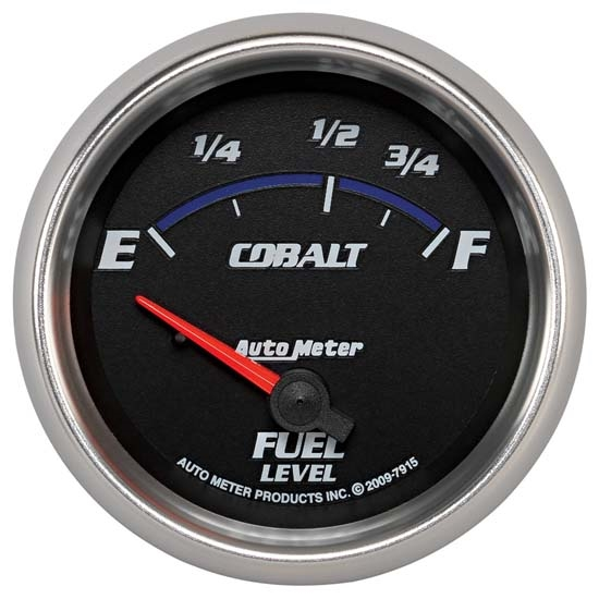 Auto Meter 7915 Cobalt Air-Core Fuel Level Gauge, 2-5/8 Inch