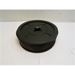 Garage Sale - K&N Filters 61-4000 Flow Control Air Cleaner-Holley 4BBL no Choke Horn