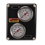 Longacre 44128 AccuTech Composite Mini Brake Balance Gauge Panel
