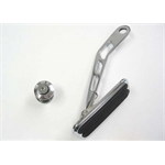 Lokar DBW-6007 Drive-by-Wire Chromed Steel Throttle Pedal w/Rubber