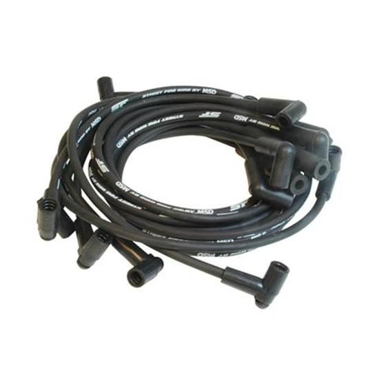 5554 street fire spark plug wires set small block chevy 350 hei msd 5554 street fire spark plug wires set small block chevy 350 hei