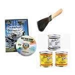 Pinstriping Kit, Paint, Brush, DVD Video