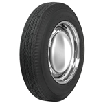 Coker Tire 568800 Firestone Vintage Bias Ply Tire, 670-15, Blackwall